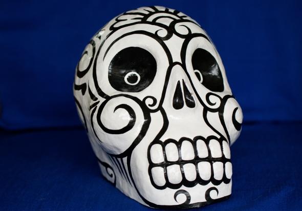 Day of the dead art, day of the dead skulls, dia de los muertos art