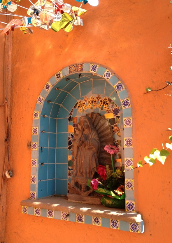 Street Shrine of Virgin of Guadalupe