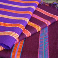 Cotton Scarves from Chiapas