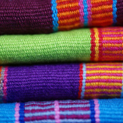Colorful Table Runners from Chiapas