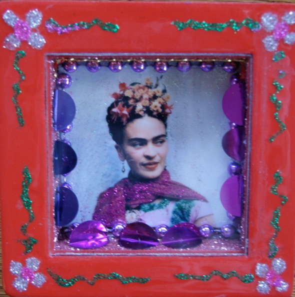 Small Nicho with Frida Kahlo