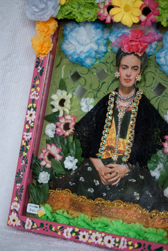 Frida Kahlo Wooden Retablo Box
