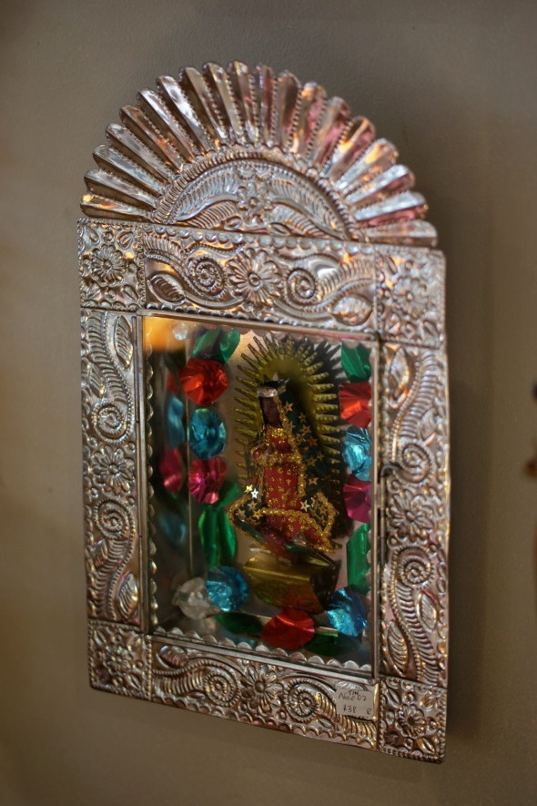 Virgin de Guadalupe in Tin