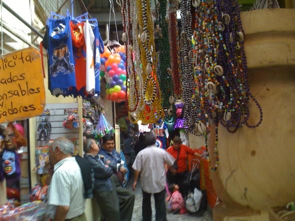 Market Scene in Mexico City