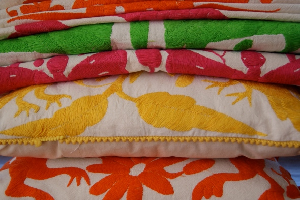Embroidered Mexican Textiles, Otomi