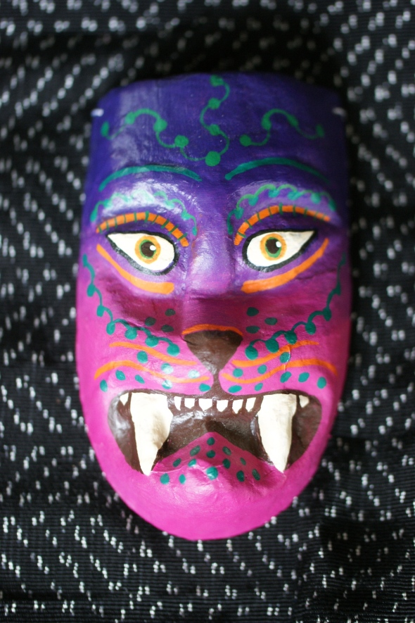 Mexican Mask with fangs