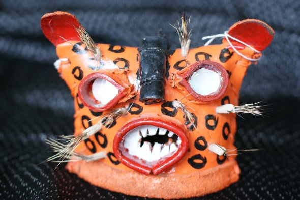 Small Tigre Mask from Mexico