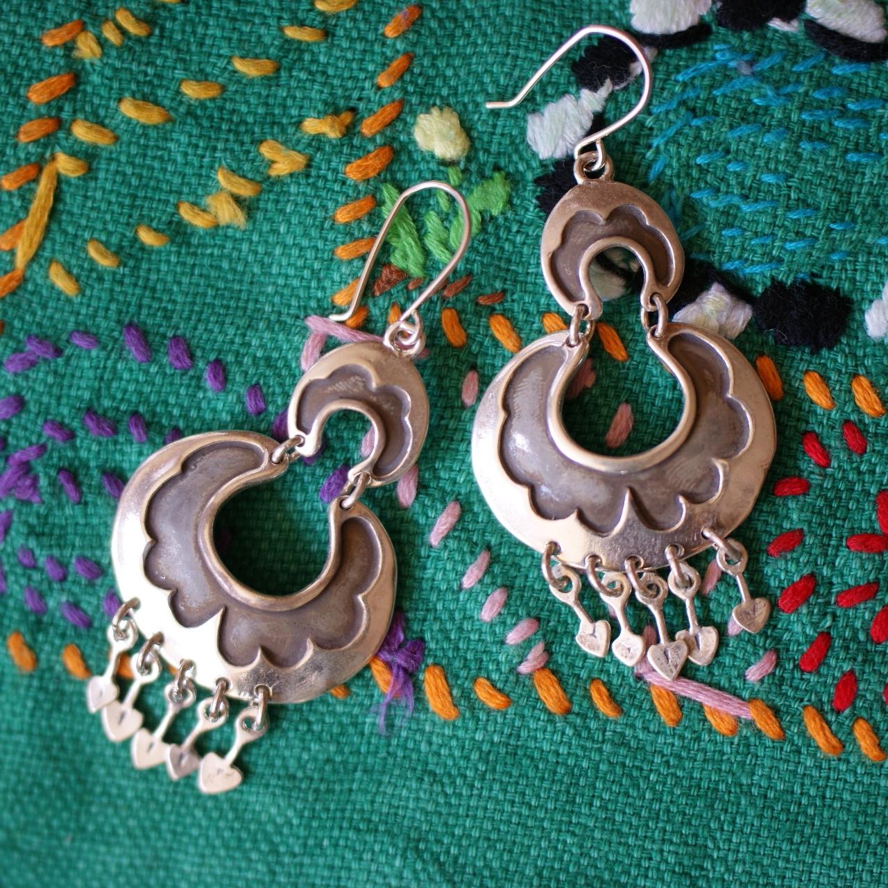 83e3cbeca ... Mexican Silver Earrings . ...