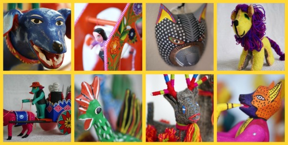 Handmade toys and whimsy from Mexico