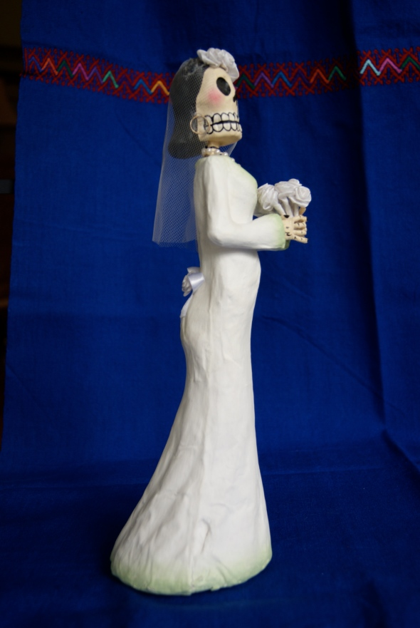 Folk Art Skeleton bride