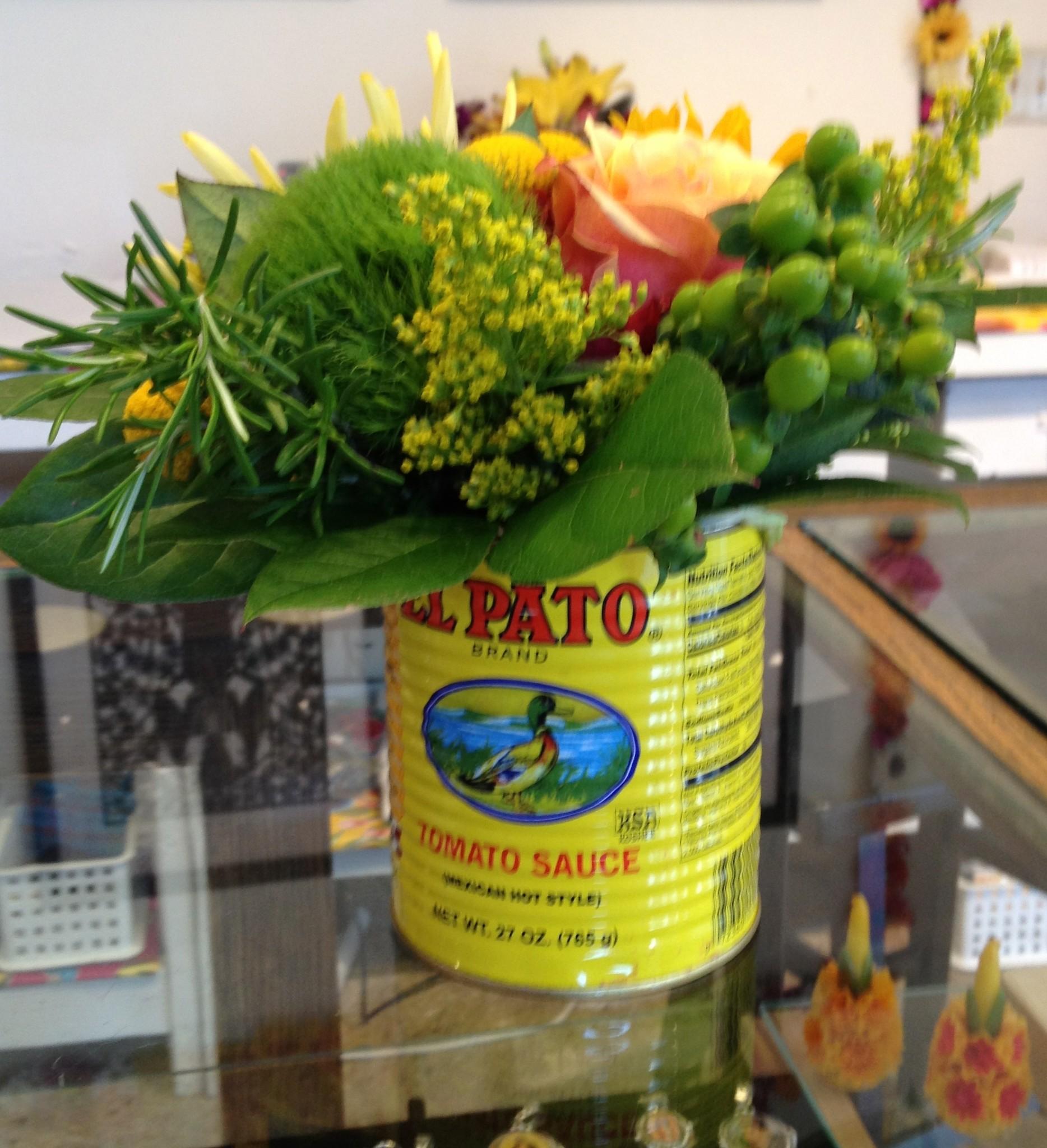 El Pato as a Vase