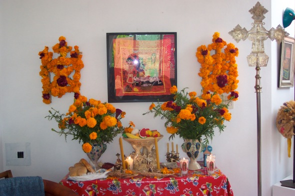 Day of the Dead Art Ofrenda