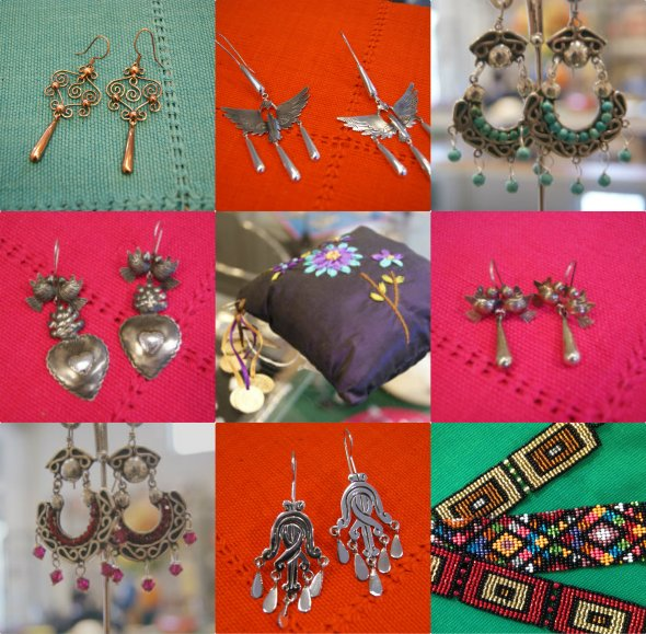 Silver Mexican Jewelry from Taxco