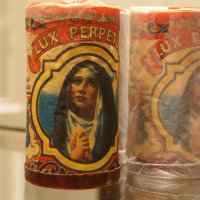 Lux Mexican Religious Candle