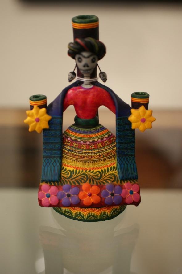 Frida Kahlo Candleholder