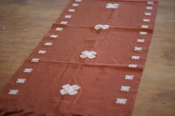Mexican Textile, Table Runner from Chiapas