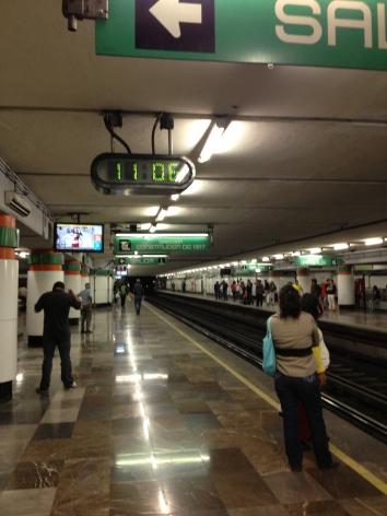 Mexico City Metro Stop
