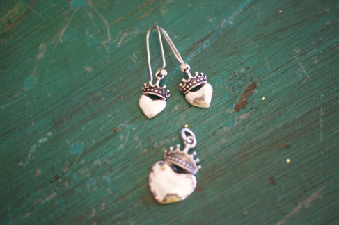 Silver jewelry, Sterling silver earrings from Mexico