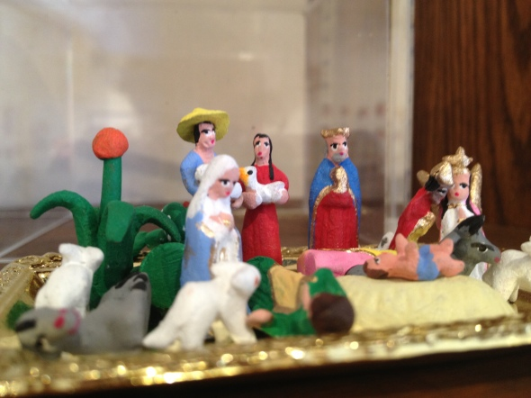 Tiny Mexican Nativity